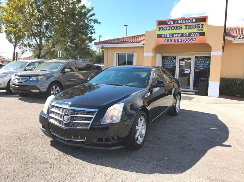2008 CADILLAC CTS 36L V6 4DR SEDAN black 2-stage unlocking doors abs - 4-wheel airbag deactiva