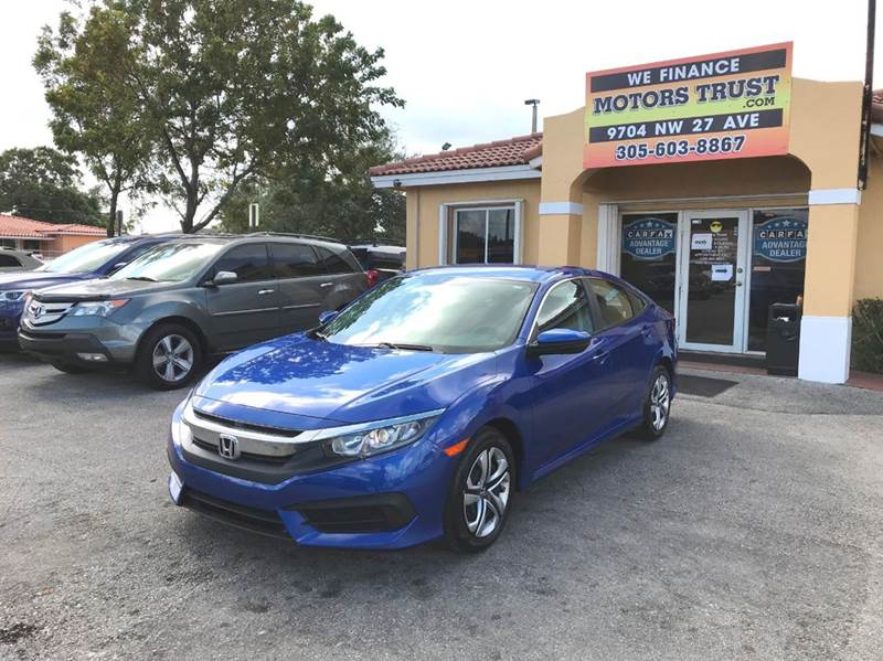2016 HONDA CIVIC LX 4DR SEDAN CVT blue 2-stage unlocking doors abs - 4-wheel air filtration air