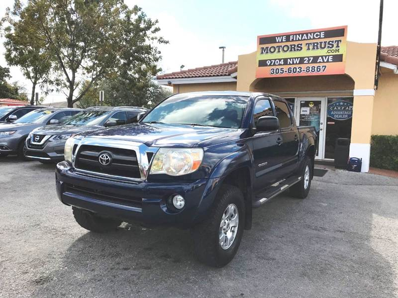 2007 TOYOTA TACOMA PRERUNNER V6 4DR DOUBLE CAB 50 blue 2-stage unlocking doors abs - 4-wheel a