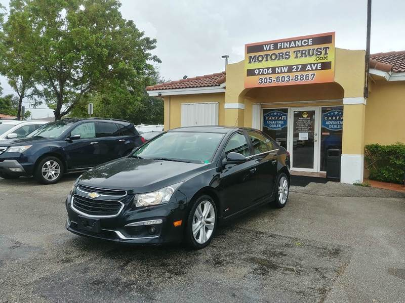 2015 CHEVROLET CRUZE LTZ AUTO 4DR SEDAN W1SJ black 2-stage unlocking doors abs - 4-wheel air fi