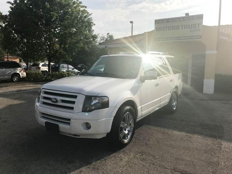 2010 FORD EXPEDITION LIMITED 4X2 4DR SUV white 2010 ford expedition limited navi 3rd row dvd s