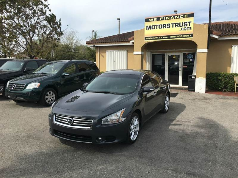 2013 NISSAN MAXIMA 35 SV 4DR SEDAN gray 2013 nissan maxima sv leather roof  looks and runs gre