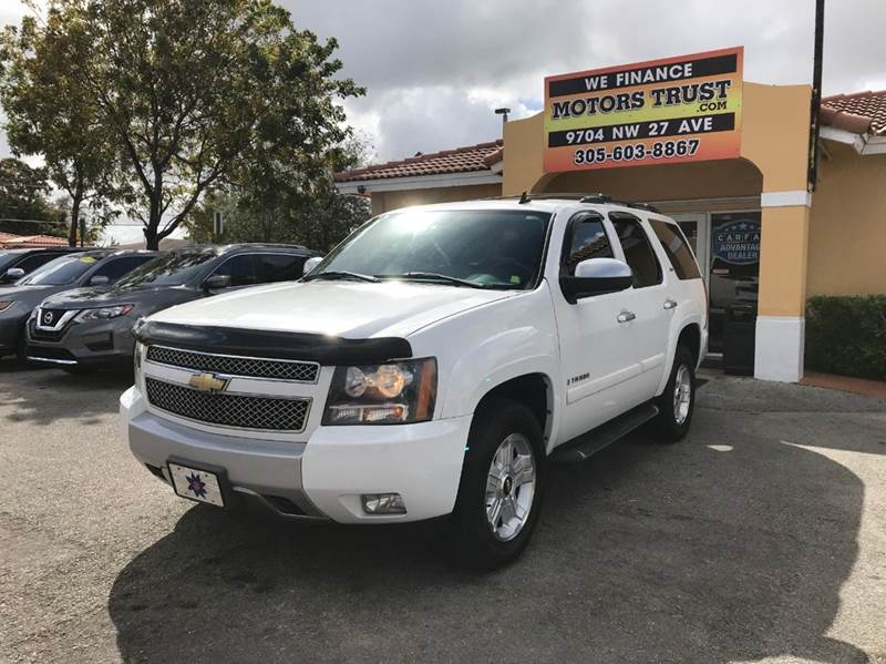 2007 CHEVROLET TAHOE LT 4DR SUV white 2-stage unlocking doors abs - 4-wheel airbag deactivation