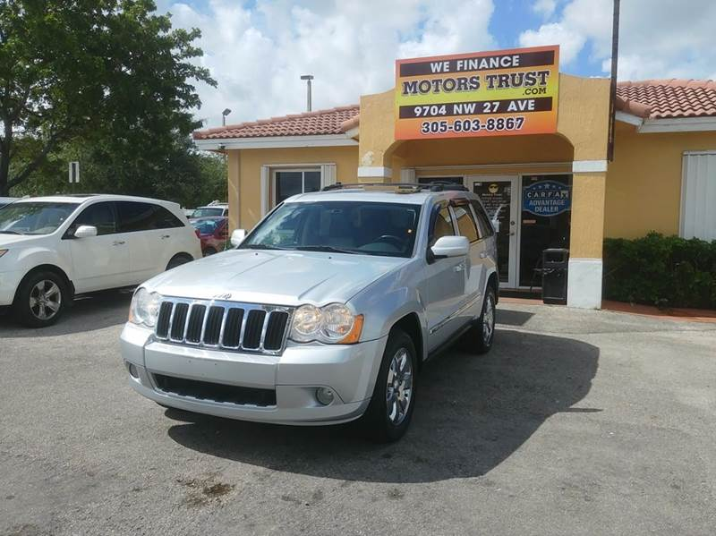 2008 JEEP GRAND CHEROKEE LIMITED 4X4 4DR SUV silver 2-stage unlocking doors 4wd selector - electr