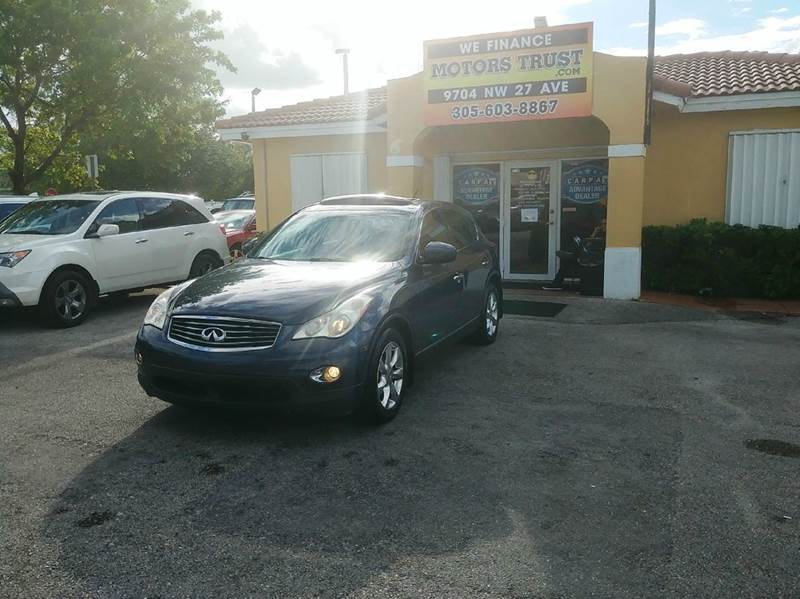 2008 INFINITI EX35 JOURNEY 4DR CROSSOVER gray 2-stage unlocking doors abs - 4-wheel active head