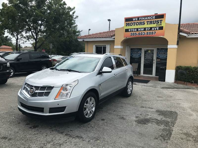 2010 CADILLAC SRX LUXURY COLLECTION 4DR SUV silver 2-stage unlocking doors abs - 4-wheel active
