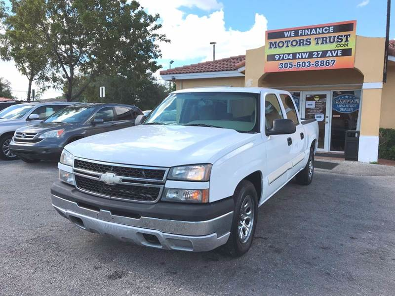2006 CHEVROLET SILVERADO 1500 LS2 4DR CREW CAB 58 FT SB white abs - 4-wheel airbag deactivatio