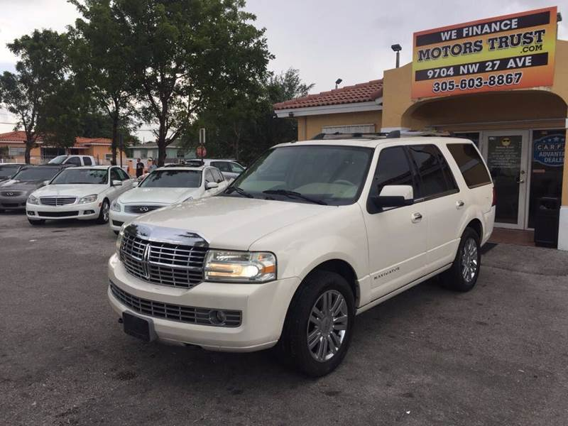 2007 LINCOLN NAVIGATOR LUXURY 4DR SUV white 2-stage unlocking doors abs - 4-wheel adjustable ped