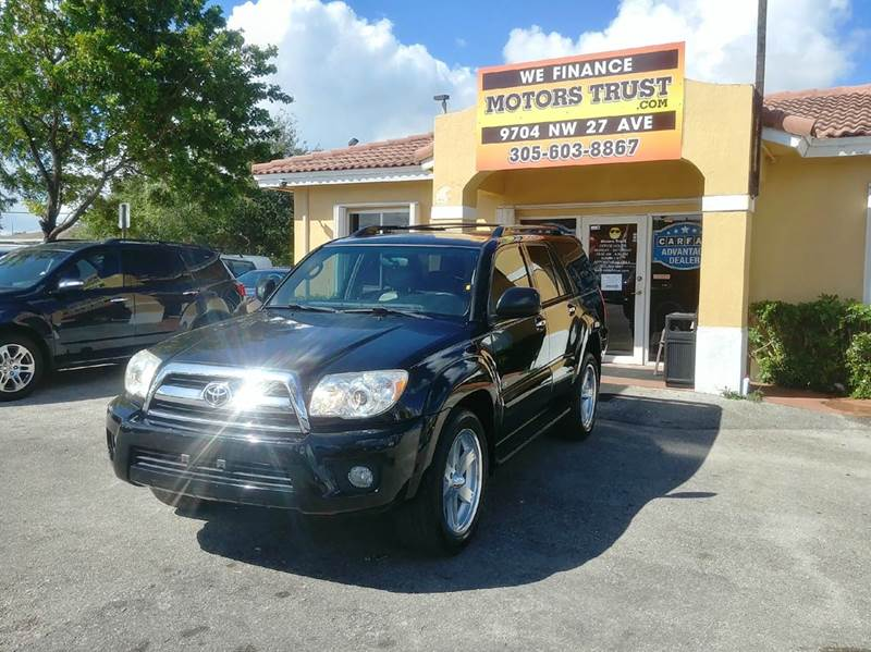 2006 TOYOTA 4RUNNER SPORT EDITION 4DR SUV WV6 black abs - 4-wheel air filtration airbag deacti