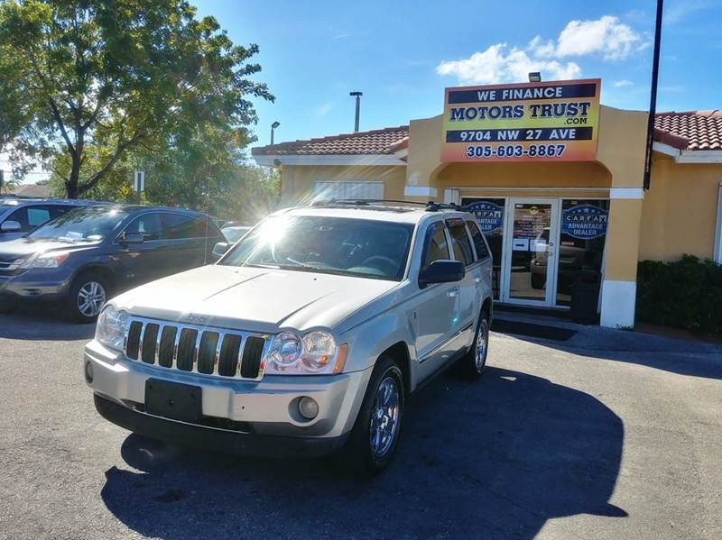2007 JEEP GRAND CHEROKEE LIMITED 4X4 4DR CROSSOVER silver 2-stage unlocking doors 4wd selector -