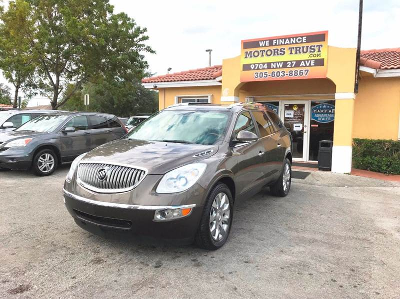 2010 BUICK ENCLAVE CXL AWD 4DR CROSSOVER W2XL brown 2-stage unlocking doors 4wd type - full time