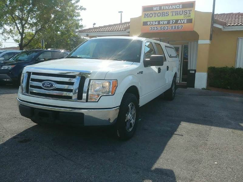 2011 FORD F-150 FX2 4X2 4DR SUPERCREW STYLESIDE white 2-stage unlocking doors abs - 4-wheel air