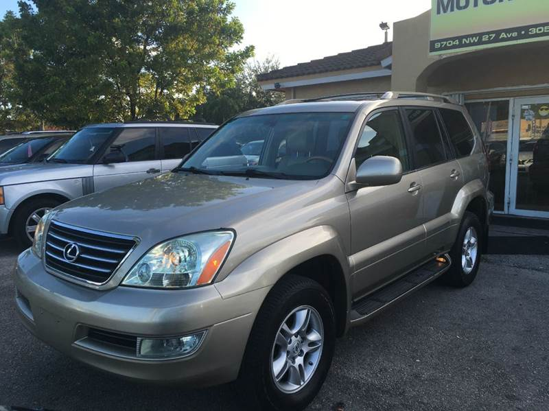 2005 LEXUS GX 470 BASE 4WD 4DR SUV gold 2005 lexus gx470 with 3rd row and navigation premium sou