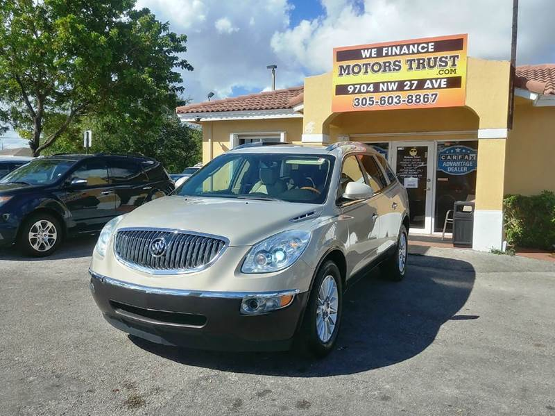 2008 BUICK ENCLAVE CXL 4DR CROSSOVER gold 2-stage unlocking doors abs - 4-wheel airbag deactiva
