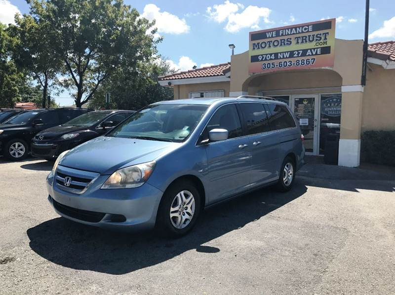 2007 HONDA ODYSSEY EX L 4DR MINI VAN blue 2-stage unlocking doors abs - 4-wheel air filtration