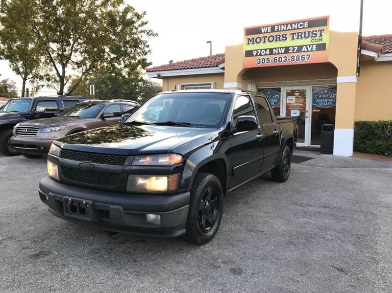 2010 CHEVROLET COLORADO LT 4X2 4DR CREW CAB W1LT black airbag deactivation - occupant sensing pa