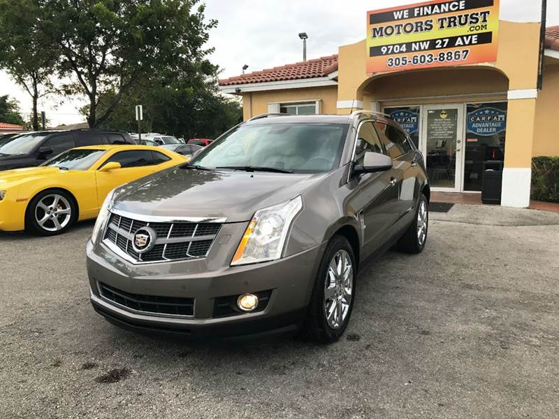 2011 CADILLAC SRX PERFORMANCE COLLECTION 4DR SUV brown 2011 cadillac srx perfomance collection wit