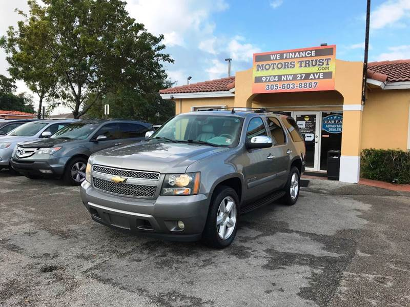 2007 CHEVROLET TAHOE LTZ 4DR SUV gray 2-stage unlocking doors abs - 4-wheel active suspension