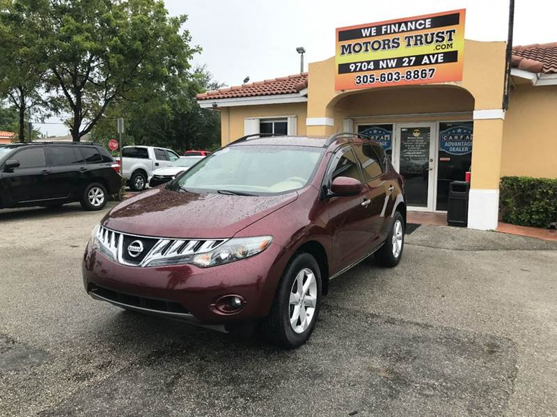 2009 NISSAN MURANO SL 4DR SUV burgundy 2009  nissan murano sl leather back up camera well kep