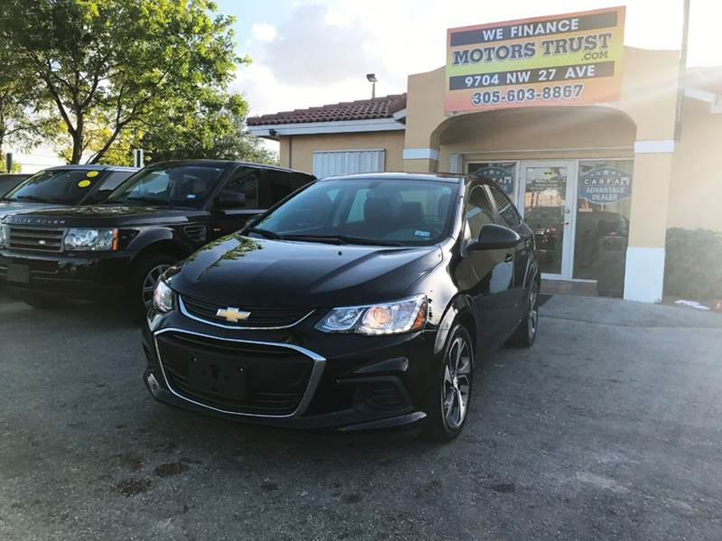 2017 CHEVROLET SONIC PREMIER AUTO 4DR SEDAN blue 2017 chevrolet sonic premier like new factory