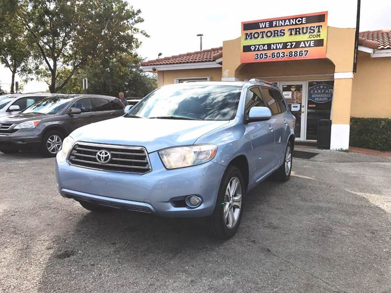 2008 TOYOTA HIGHLANDER SPORT AWD 4DR SUV light blue 4wd type - full time abs - 4-wheel active h