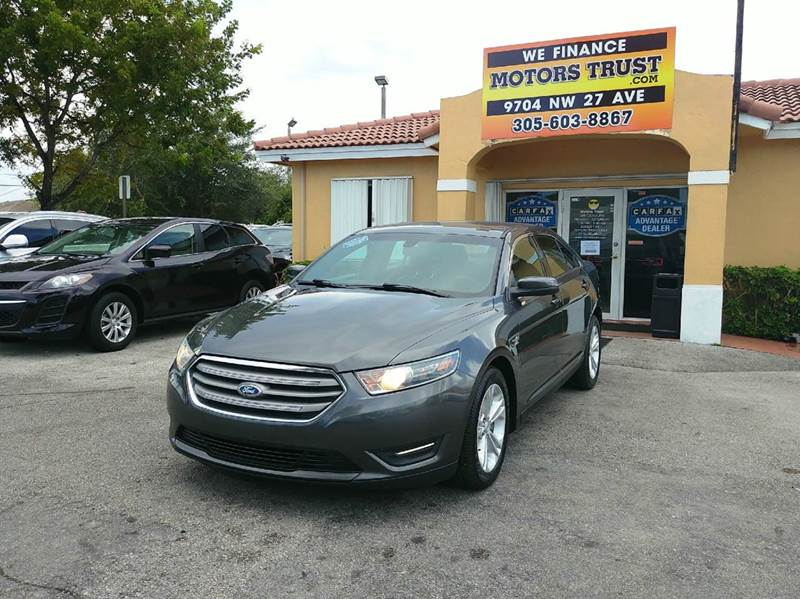 2015 FORD TAURUS SEL 4DR SEDAN gray 2-stage unlocking doors abs - 4-wheel air filtration airbag