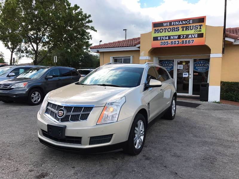 2010 CADILLAC SRX LUXURY COLLECTION AWD 4DR SUV gold 2-stage unlocking doors 4wd type - full tim
