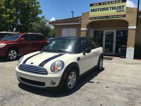 2009 MINI Cooper Clubman for sale in Miami, FL