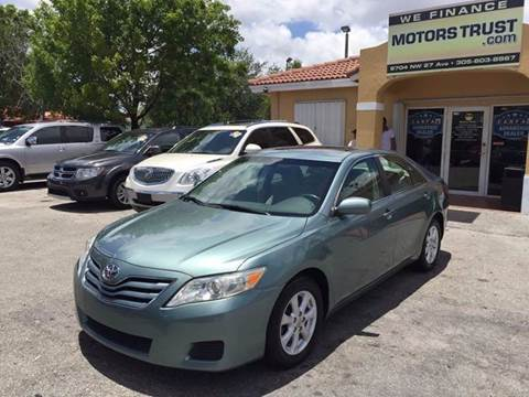 2011 Toyota Camry for sale in Miami, FL