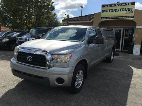 2007 Toyota Tundra for sale in Miami, FL