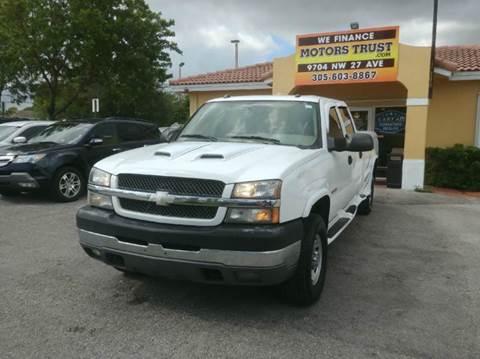 2004 Chevrolet Silverado 3500 for sale in Miami, FL