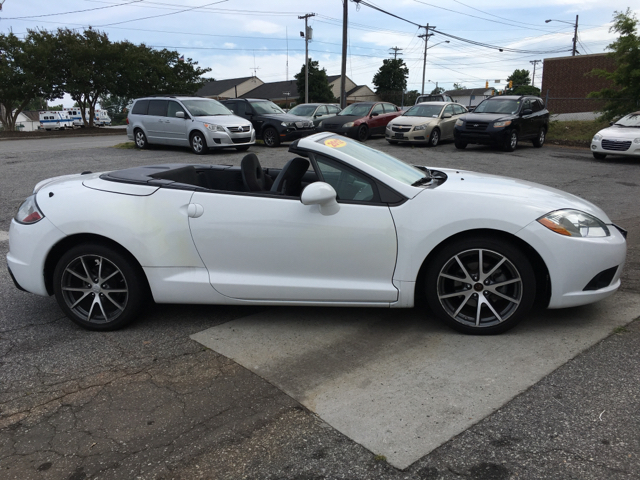 2012 mitsubishi eclipse spyder gs sport 2dr convertible in greensboro nc approved autos llc. Black Bedroom Furniture Sets. Home Design Ideas