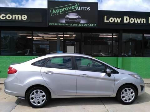 2012 Ford Fiesta & Ford Used Cars Pickup Trucks For Sale Greensboro Approved Autos LLC markmcfarlin.com