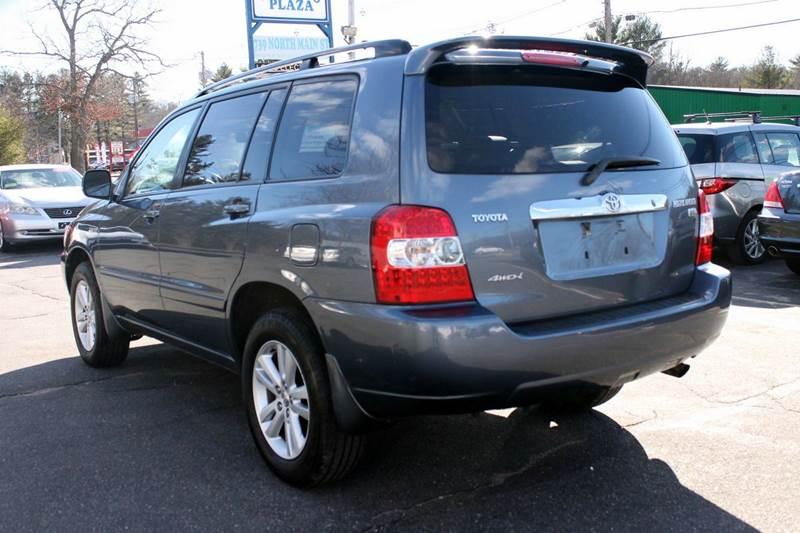 2006 Toyota Highlander Hybrid Limited Awd Limited 4dr Suv