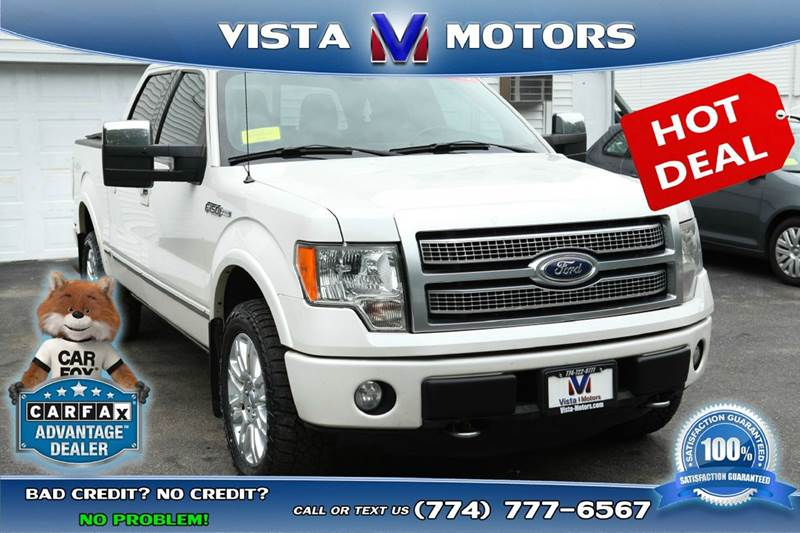 2011 Ford F-150 ... & Ford Used Cars Bad Credit Auto Loans For Sale West Bridgewater ... markmcfarlin.com