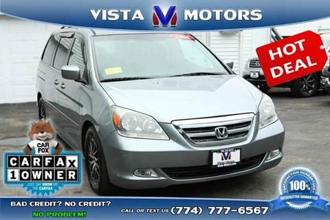 2006 Honda Odyssey for sale in West Bridgewater, MA