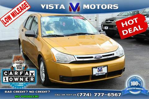 2009 Ford Focus for sale in West Bridgewater, MA