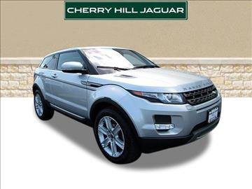 2013 Land Rover Range Rover Evoque Coupe for sale in Cherry Hill, NJ