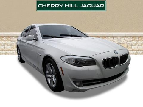 2013 bmw 5 series for sale in new jersey. Black Bedroom Furniture Sets. Home Design Ideas