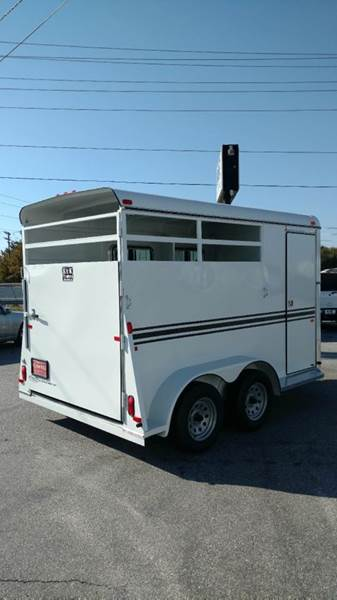 2017 Bee Trailers 2 Horse Slant Load  - Fountain Inn SC