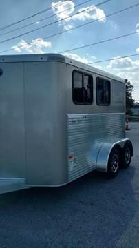 2017 Sundowner 2 Horse Bumper Pull