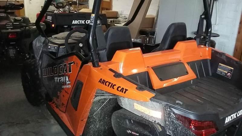 2016 Arctic Cat Wildcat Trail LTD EPS  - Cambridge NE