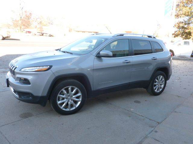 2016 Jeep Cherokee 4x4 Limited 4dr SUV - Cambridge NE
