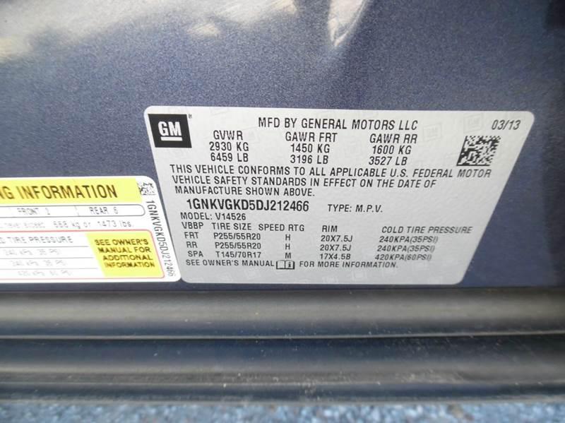 2013 Chevrolet Traverse AWD LT 4dr SUV w/1LT - Cambridge NE