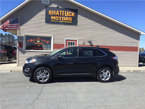 shattuck motors used cars newport vt dealer