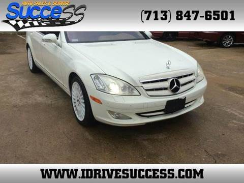 2007 mercedes benz s class for sale in houston tx for Used mercedes benz s550 for sale in houston tx