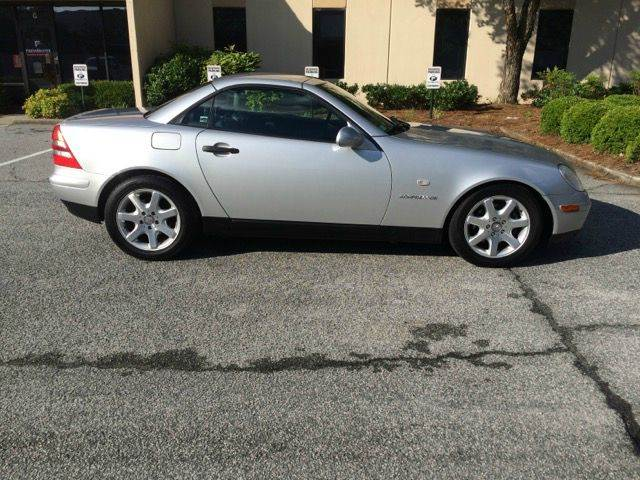 2000 Mercedes Benz Slk Class For Sale In Houston Tx