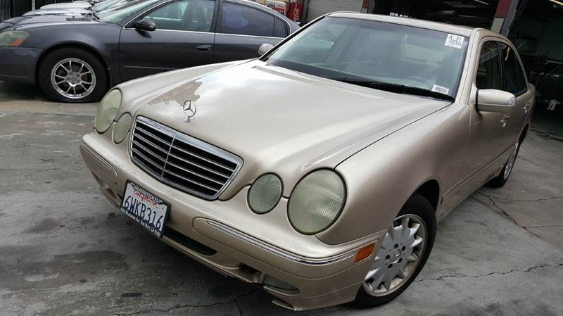 2001 mercedes benz e class for sale for Mercedes benz long beach service