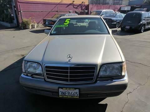 1995 Mercedes-Benz S-Class for sale in Long Beach, CA