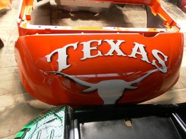 2015 Colleges/Universities Texas Longhorns  - Effingham SC